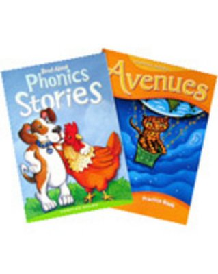 Hampton-Brown Avenues Grade1/Level B Consumable Student Materials (Practice Book & Read-Alone Phonics Stories)