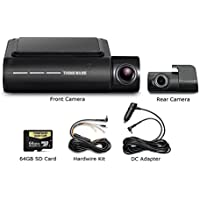 Thinkware F800 Pro Dash Cam 64GB Kit w/Rear Cam Hardwire WiFi GPS Night Vision