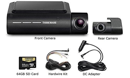 Thinkware F800 Pro Dash Cam 64GB Kit w/Rear Cam Hardwire WiF