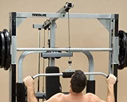 Powerline PLA144X Lat Row Accessory for PSM144X PowerLine Smith Machine