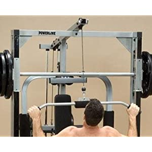 Powerline PLA144X Lat Row Accessory for PSM144X Smith Machine