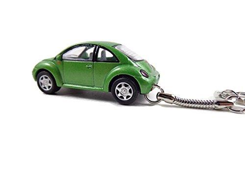 VW Beetle Keychain New Green Beetle