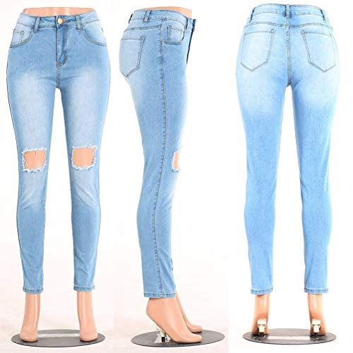 Matita Denim Vita Donna Da Bottoni A Con Jeans Qk Strappati Stil Frontali Pantaloni Stretch 3 lannister Tasche Media Ragazza Skinny qwpZ4vWT