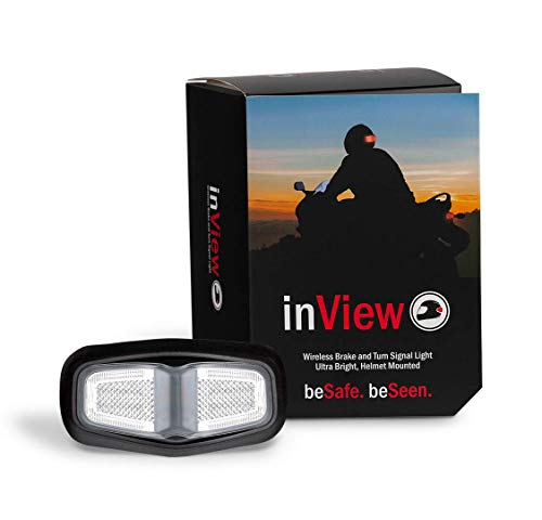 - inView Helmet Brake and Signal Light (clear)