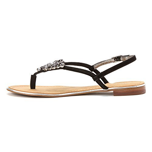 Marc Fisher Rady Women US 6.5 Black Sandals