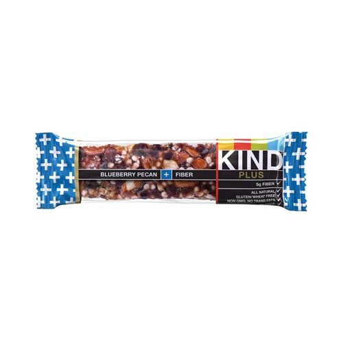 Kind Blueberry Pecan Plus Fiber Bar, 1.4 Ounce - 12 per case. - Kind Blueberry Pecan