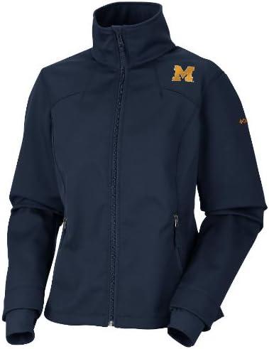 NCAA Michigan Wolverines MHR Softshell Women Jacket
