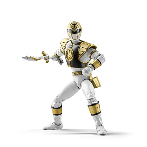 Lightning Collectible - Power Rangers Lightning Collection 6-Inch Mighty Morphin White Ranger Collectible Action Figure