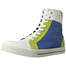 Just Cavalli Men's Perforated High Top Fashion Sneaker
