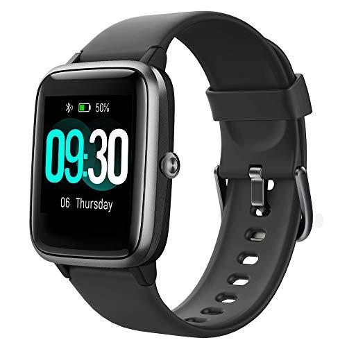 Willful Smartwatch,Reloj Inteligente con Pulsómetro,Cronómetros,Calorías,Monitor de Sueño,Podómetro Monitores de Actividad Impermeable IP68 Smartwatch Hombre Reloj Deportivo para Android iOS a buen precio