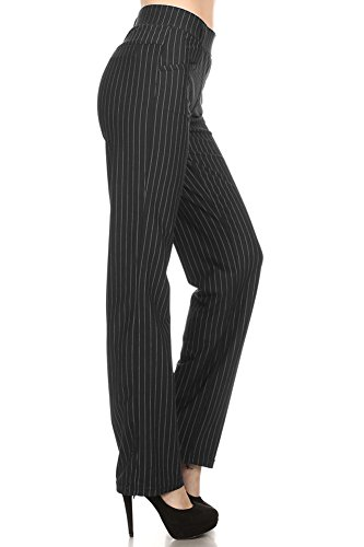 Straight-Fit-Stretchy-Solid-and-Pinstripe-Trousers