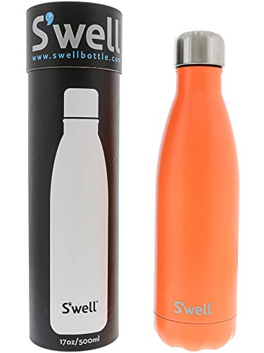 25oz S/'well® Vacuum Insulated Stainless Steel Water Bottle 17oz FREE SHIP