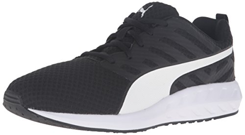 Puma Mens Flare Mesh Running Shoe Puma Black/Puma White