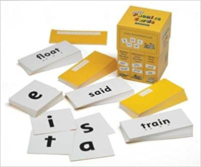 October, 2000 Jolly Phonics Cards in Print Letters published on Author: Sue Lloyd