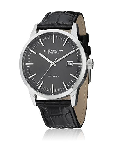 Stuhrling Original Men's 555A.02 Analog  - Leather Strap Quartz Movement Shopping Results