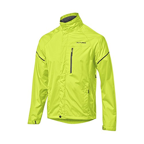 Altura Men's Nevis 3 Waterproof Jacket, Hi-Viz Yellow, X-Large