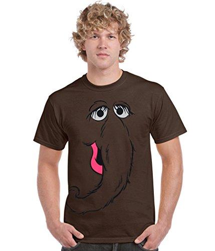 Snuffleupagus Snuffy Face T-Shirt-XX-Large ()