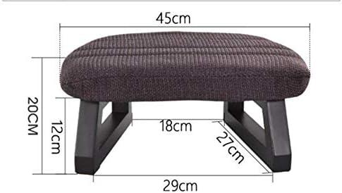 Lpfkkk Japonais Legless Coussin serti avec Tabouret de Couverture en Tissu Amovible for la Pleine Conscience, Yoga et Bien-être Banc à Genoux fabriqué à la Main sièges étage