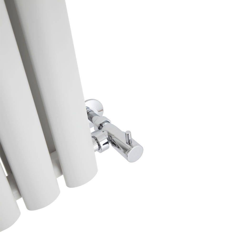 Hudson Reed Revive Radiatore Termoarredo di Design Verticale Moderno Termosifone con Finitura in Antracite Riscaldamento ad Acqua Calda Design a Colonna 892W 1780 x 354 x 56mm