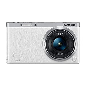 Samsung NX Mini 20.5MP CMOS Smart WiFi Interchangeable Lens Digital Camera with 9-27mm Lens (White) (Certified Refurbished)
