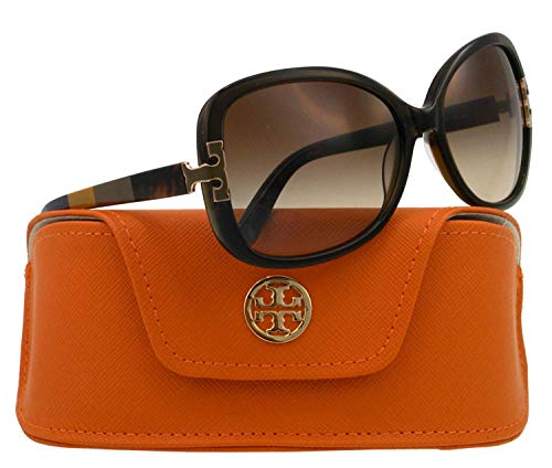 Tory Burch TY7022 - 110913 Sunglasses TY7022 OLIVE BLOCK w/ SMOKE GRADIENT Lens ()