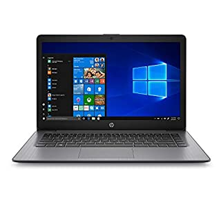 2020 HP 14inch Stream Laptop, Intel Celeron N4000 Processor up to 2.6 GHz, 4GB DDR4 RAM, 64GB SSD, Intel UHD Graphics 600, WiFi, Bluetooth, HDMI, Win10 Home S (Renewed)
