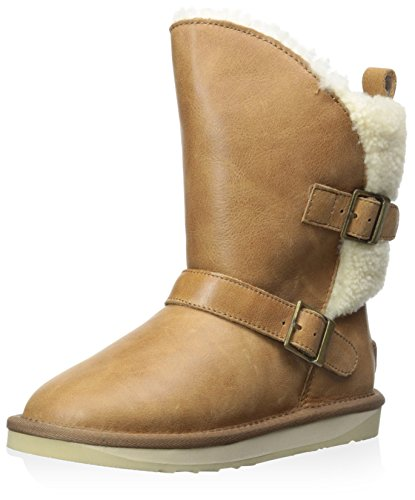 Chestnut Nadir with Buckles Collective Luxe Boot Australia Kid's qZTT0R