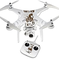 Skin For DJI Phantom 3 Standard – Motocross | MightySkins Protective, Durable, and Unique Vinyl Decal wrap cover | Easy To Apply, Remove, and Change Styles | Made in the USA