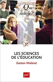 Les sciences de l 39:éducation