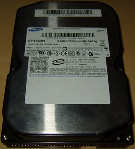 Sp1644n Samsung Hard Drives Ata - Ide 160gb-7200rpm