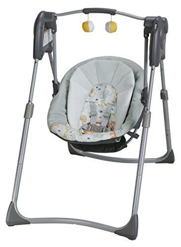 Graco Slim Spaces Compact Baby Swing Linus