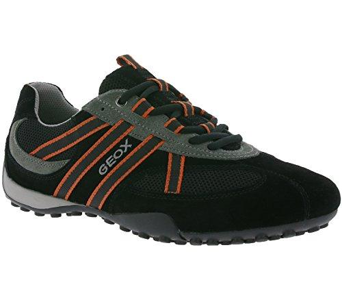 Black Snake Atmungsaktiv Lose Wechselfußbett Herren U2207S Sportlicher Orange Sneaker Freizeitschuh Schnürhalbschuh Geox Einlegesohle ZPF0xW