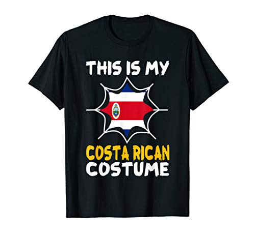 This Is My Costa Rican Costume Halloween Costa Rica Tee]()