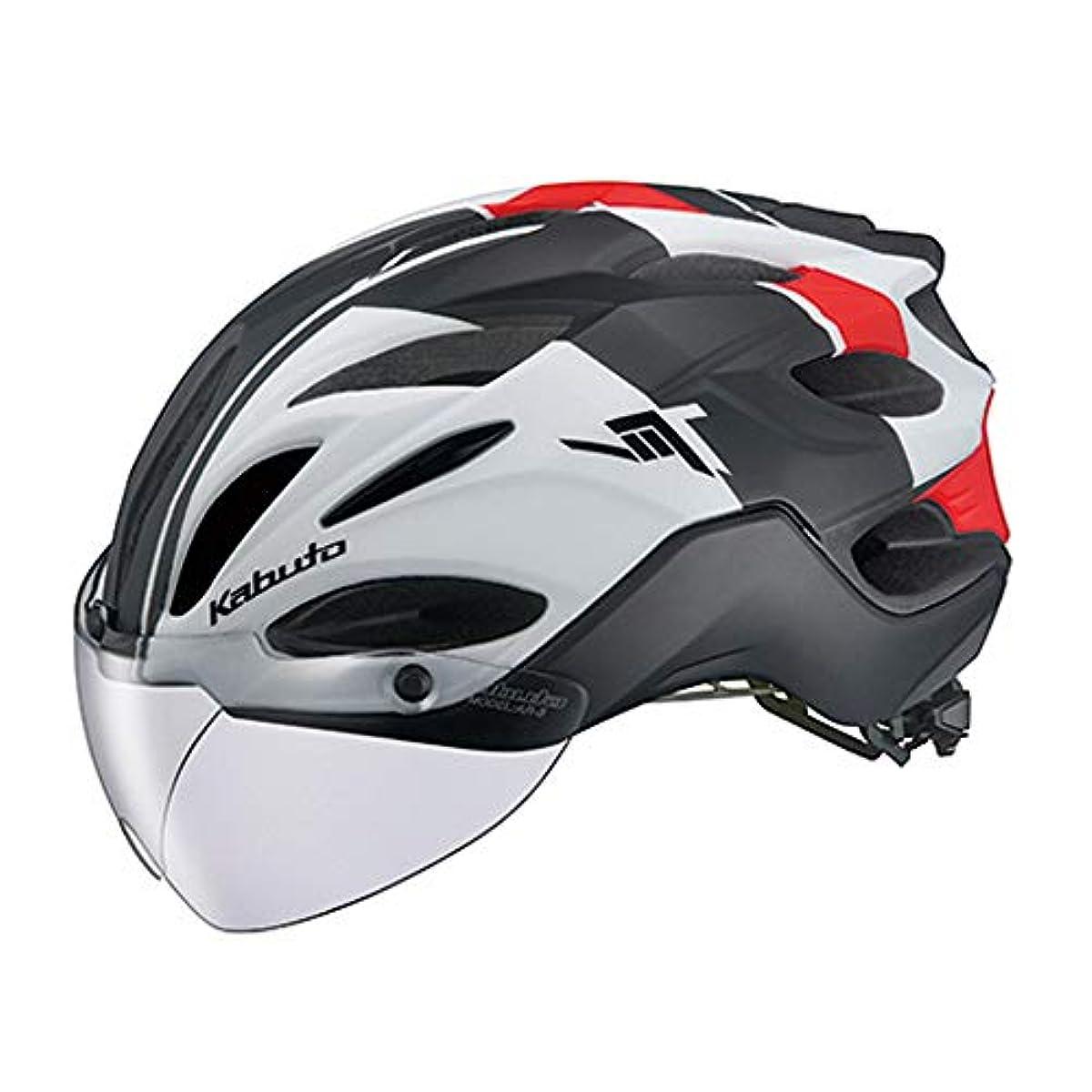 [해외] OGK KABUTO(OG K (카부)카브도) 헬멧 VITT (빗토) 컬러:G-1매트 화이트 레드