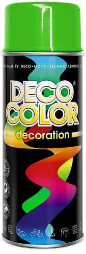 1 Stück 400ml Lackspray Spraydose Dekorfarbe grün light RAL 6018 10101