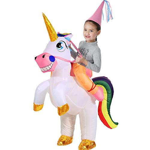 Ballerina Halloween Costume Child (YEAHBEER Unicorn Costume Inflatable Suit Halloween Cosplay Fantasy Costumes)
