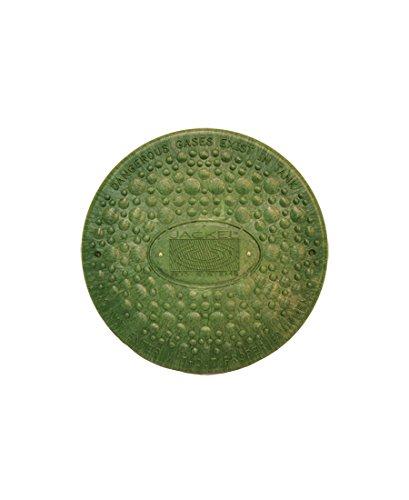 Jackel Septic Tank Riser Cover (12 Inch Diameter - GREEN) by Jackel Inc.