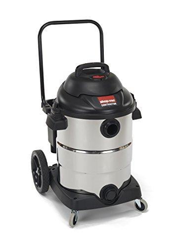 Shop-Vac 9626610 6.5 Peak HP Stainless Steel Wet Dry Vacuum, 15-Gallon ()