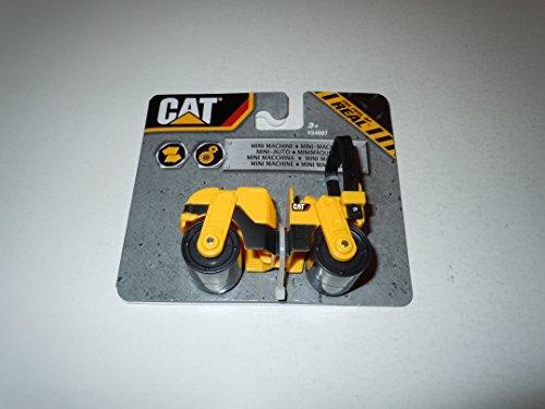 Caterpillar Construction Mini Machine - Road Compactor by - Builder Cat Playset Bridge