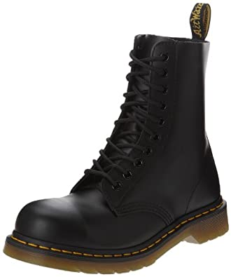 Amazon.com | Dr. Martens Classic 1919 Steel Toe Boot | Motorcycle ...
