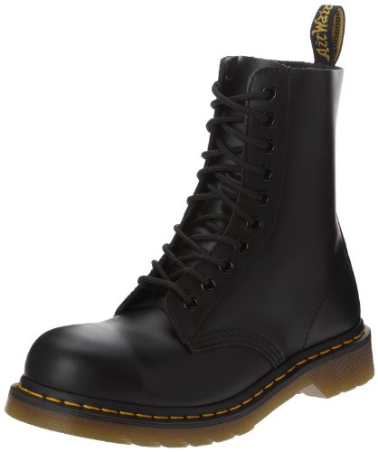 Dr. Martens Classic 1919 Steel Toe Boot,Black Fine Haircell,7 UK (US Men's 8 M/Women's 9 M)