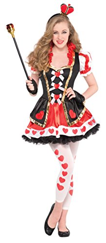 Teen Queen Of Hearts Costume - S