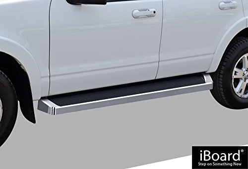 - APS iBoard Running Boards (Nerf Bars | Side Steps | Step Bars) for 2006-2010 Ford Explorer/Mercury Mountaineer Sport Utility 4-Door | (Silver Running Board Style)