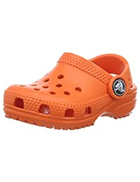 Crocs Kid's Classic K Clog 10006,Khaki,C6C7 Toddler
