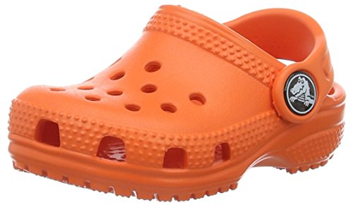 Crocs Kids' Classic K Clog, Tangerine, 13 M US Little Kid