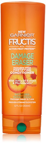 Garnier Fructis Damage Eraser Conditioner, Distressed, Damaged Hair, 12 fl. oz.