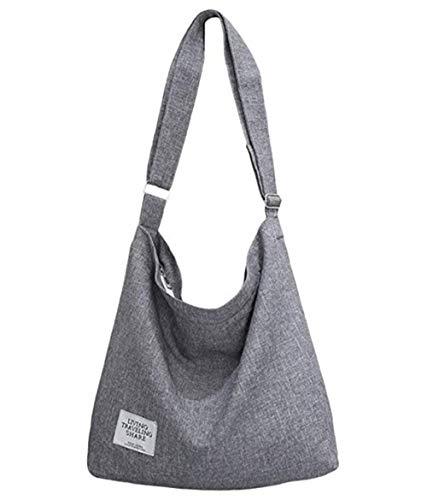 - K T One Canvas Handbags Work Travel School Hobo Crossbody Shoulder Tote Purse Bags