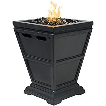 diy indoor tabletop fire pit best choice products patio outdoor bowl with glass rock and cover lowes amazon