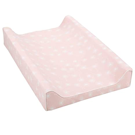 One Size Italbaby 2 Sided Solid Plain Changing Pad Multi-Color Pink