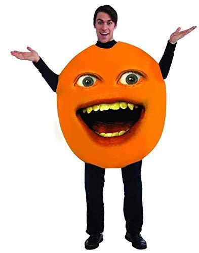 (Forum Annoying Orange Annoying Orange Adult Costume, Orange, One)